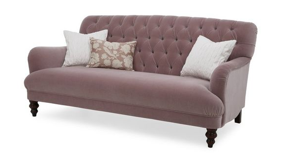 Add a bit of Glamour with a Velvet sofa